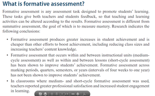 What Is Formative Assessment U0026 The Five Key Strategies?   NCTM Research  Clip · Picture. Formative Assessment ...